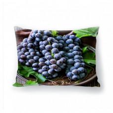 "Фото подушка ""Вкус винограда"" (габардин)"