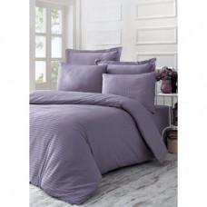 """Элитное постельное белье премиум-класса страйп-сатин """"Purple Sage"""""""