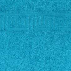 """Полотенце махровое """"голубой"""" 50х90 см"""