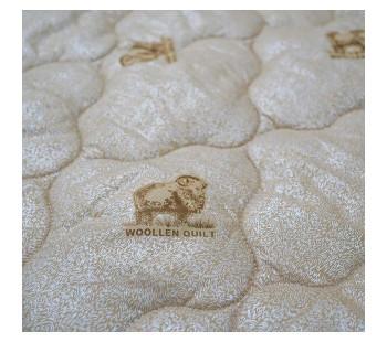 """Одеяло """"из овечьей шерсти"""" 1,5 спальное тик"""