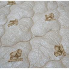 """Одеяло """"из овечьей шерсти"""" 1.5 спальное легкое тик"""