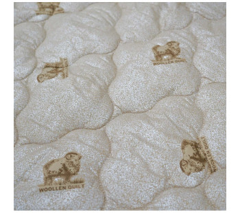 "Одеяло ""из овечьей шерсти"" евро-мини легкое тик"