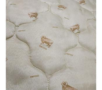 """Одеяло """"из овечьей шерсти"""" евро легкое"""