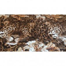 """Покрывало на кровать бязь стеганое """"Леопард"""""""