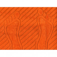 "Полотенце махровое ""Ножки"" (мандарин)"