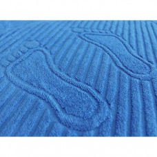 """Полотенце махровое """"Ножки"""" (синий)"""