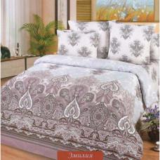 """Ткань поплин """"Эмилия"""" для постельного белья (основа) 220 см (оптом от 1 рулона)"""