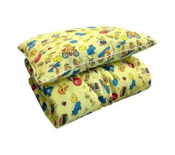 Одеяло Детское Хлопок 100% (синтепон) 200 гр. Бязь 125 гр.