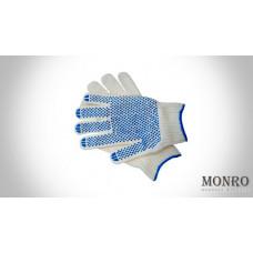 Перчатки с ПВХ (5 ниток 10 класс) ОПТОМ